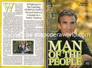 interview with Michael Zaslow (Roger Thorpe on Guiding Light)