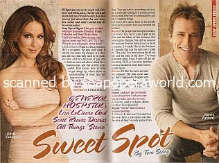 Interview with Lisa LoCicero & Scott Reeves (Olivia and Steve on General Hospital)