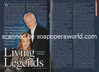 Interview with Anthony Geary and Genie Francis (Luke and Laura on General Hospital)