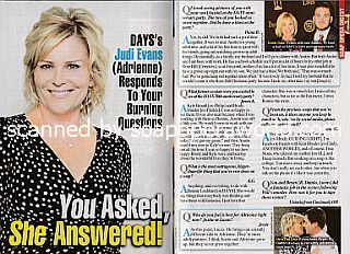 Interview with Judi Evans (Adrienne on Days Of Our Lives)