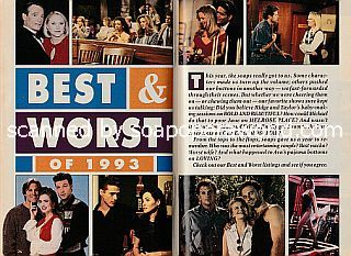 The Best & Worst of 1993