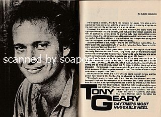 Interview with Anthony Geary (Anthony plays the role of Luke Spencer on General Hospital)