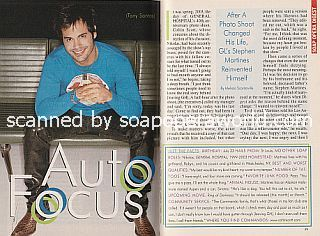 Interview with Stephen Martines (Tony on the CBS soap opera, Guiding Light)
