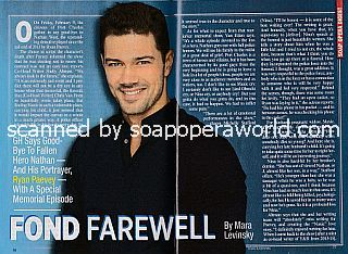 Exit Interview with Ryan Paevey (Nathan on General Hospital)