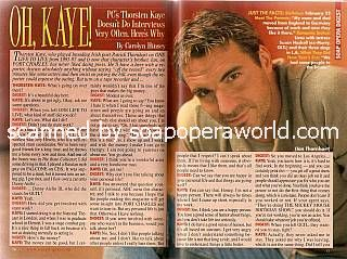Thorsten Kaye (Ian on PORT CHARLES)