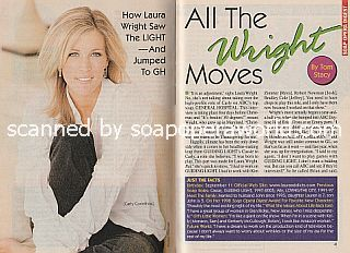 Interview with Laura Wright (Carly on the ABC soap opera, General Hospital)