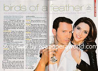 Interview with Eric Martsolf & Jen Lilley (Brady and Theresa on Days Of Our Lives)