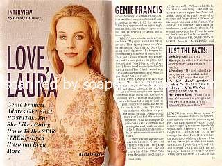Genie Francis (Laura, GH)