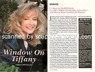 Interview with Sharon Wyatt (Tiffany Hill Donely on General Hospital)