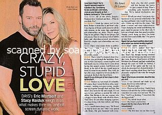 Interview with Eric Martsolf and Stacy Haiduk of Days Of Our Lives