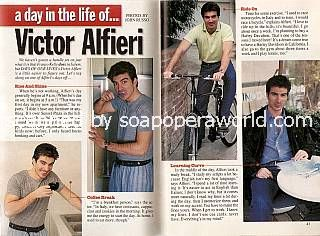 A Day In The Life of Victor Alfieri (Franco on Days Of Our Lives)
