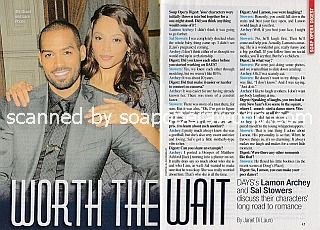 Interview with Lamon Archey and Sal Stowers (Eli and Lani on Days Of Our Lives)