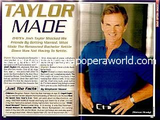 Josh Taylor of Days Of Our Lives