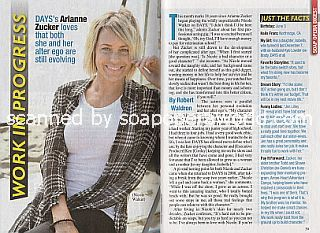 Interview with Arianne Zucker (Nicole Walker on Days Of Our Lives)
