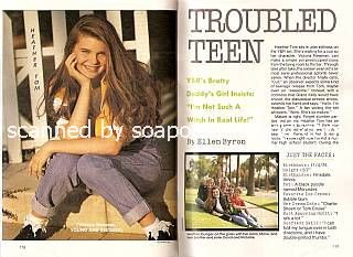 Interview with Heather Tom (Victoria Newman on The Young & The Restless)