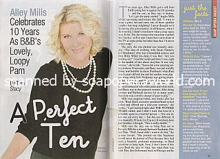 Interview with Alley Mills  (Pam on The Bold and The Beautiful)