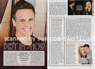 Interview with Christian LeBlanc (Michael Baldwin on The Young and The Restless)