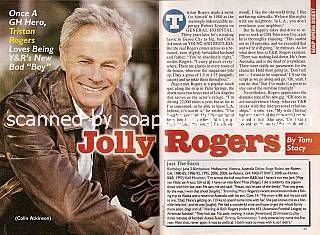 Interview with Tristan Rogers (Colin on Y&R)