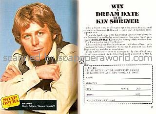 Win A Dream Date with Kin Shriner of General Hospital