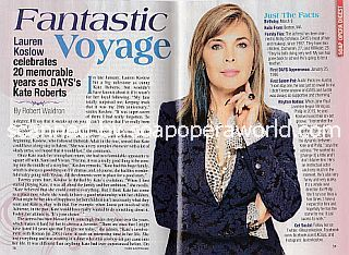 Interview with Lauren Koslow (Kate Roberts on Days Of Our Lives)