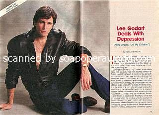Interview with Lee Godart (Kent Bogard on All My Children)