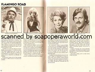 The cast of Flamingo Road