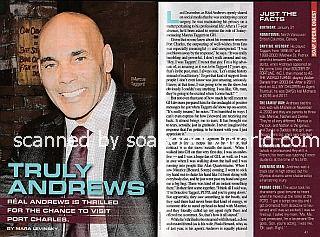Interview with Real Andrews (Marcus Taggert on General Hospital)