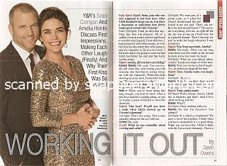 Interview with Sean Carrigan & Amelia Heinle (Stitch and Victoria on The Young & The Restless)
