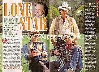 Robert S. Woods, Phil Carey & Clint Ritchie (Bo, Asa & Clint of OLTL)
