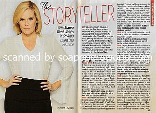 Interview with Maura West (Ava on General Hospital)