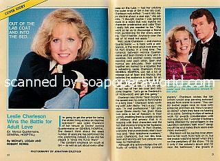 Interview with Leslie Charleson (Monica Quartermaine on General Hospital)