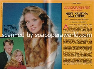 Interview with Kristina Malandro (Felicia on General Hospital)