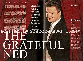Wally Kurth played the role of Ned Ashton on GH