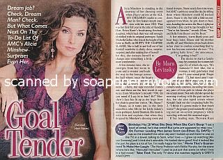 Interview with Alicia Minshew of All My Children
