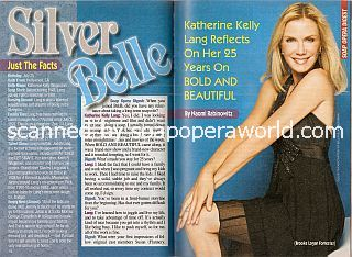 Interview with Katherine Kelly Lang (Brooke on The Bold & The Beautiful)