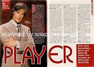Ronn Moss (Ridge, B&B)
