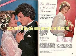 Roman and Marlena of Days Of Our Lives