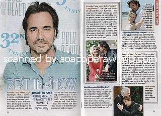 Interview with Thorsten Kaye (Ridge on The Bold and The Beautiful)