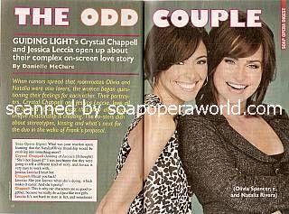 Jessica Leccia & Crystal Chappell (Natalia & Olivia, GL)