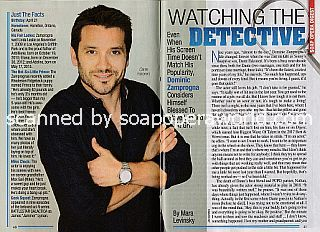 Interview with Dominic Zamprogna (Dante on General Hospital)