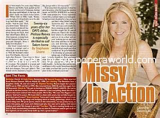 Interview with Melissa Reeves (Jennifer Deveraux on Days Of Our Lives)