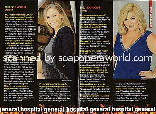 Soaps' Hottest Newcomers featuring Chloe Lanier and Risa Dorken (Nelle and Amy on General Hospital)