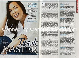 Interview with Laura Kai Chen (Melinda Trask on Days Of Our Lives)