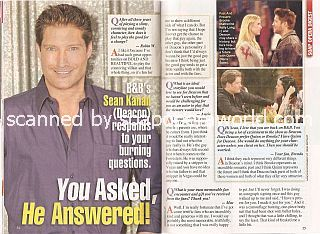 Interview with Sean Kanan (Sean plays the role of Deacon on soap opera, The Bold & The Beautiful)