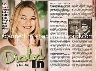 Interview with Robin Mattson (Heather on the ABC soap opera, General Hospital)