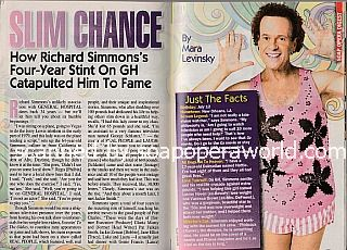 Interview with Richard Simmons of General Hospital