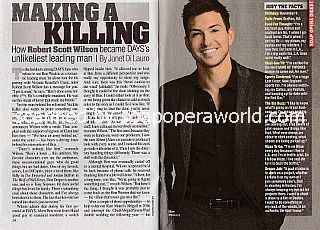 Interview with Robert Scott Wilson (Ben on Days Of Our Lives)