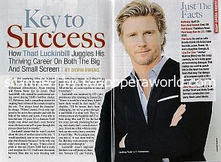 Interview with Thad Luckinbill (J.T. Hellstrom on The Young and The Restless)