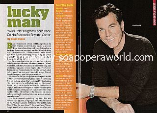 Interview with Peter Bergman (Jack Abbott on The Young and The Restless)