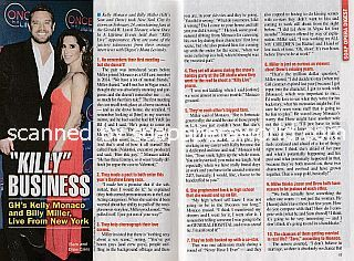 Interview with Billy Miller & Kelly Monaco (Drew and Sam on General Hospital)